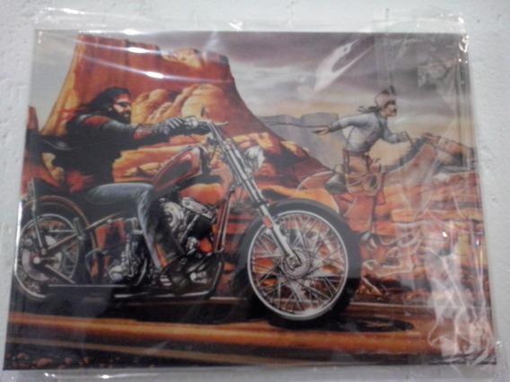 Rider Classic Quadro Decorativo Harley Modelo 1