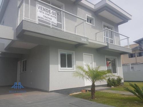 Casa Com 3 Dormitórios À Venda, 126 M² Por R$ 450.000,00 - Ingleses Do Rio Vermelho - Florianópolis/sc - Ca0556