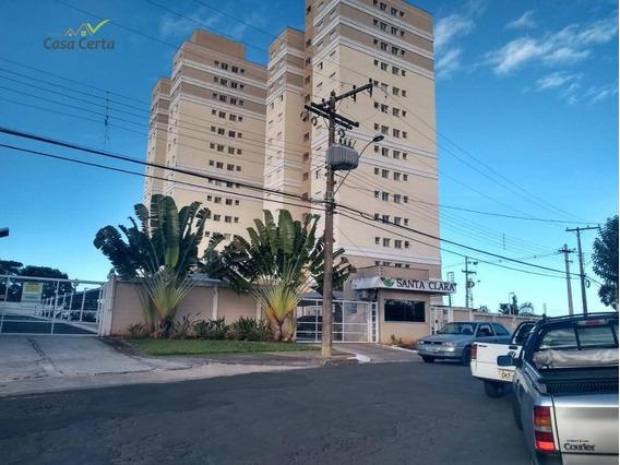 Apartamento Com 2 Dormitórios À Venda, 51 M² Por R$ 254.400 - Condomínio Santa Clara - Mogi Guaçu/sp - Ap0111