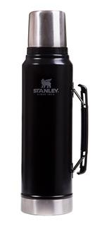 Termo Clásico Stanley 1 Litro Inoxidable Tapón Cebador