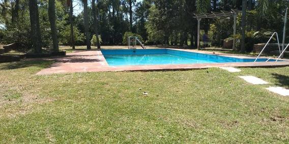 Casa Quinta Con Casa Principal Y Secundaria.