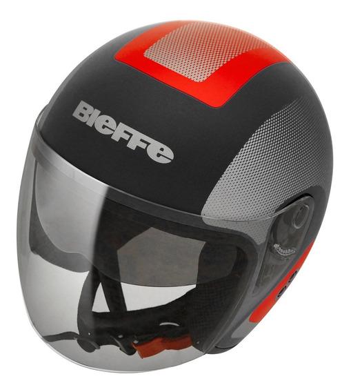 Capacete Moto Bieffe Allegro Doccia Cores