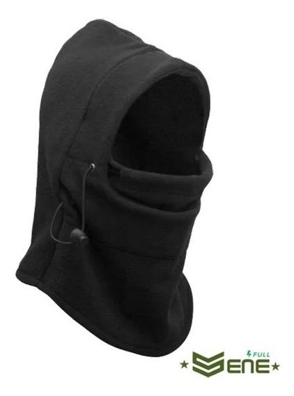 4x Touca Balaclava Proteção Para Frio Intenso Polar Be Preta