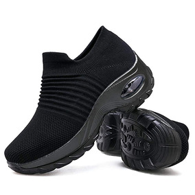 Zapatos Para Caminar Para Mujeres Zapatillas De Deporte Con