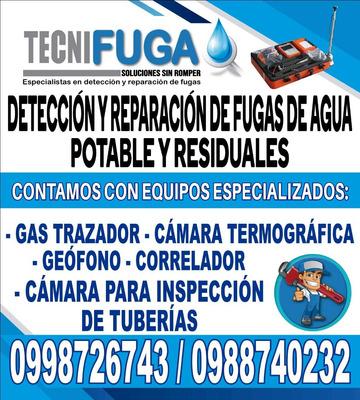 Detecto Fugas De Agua Con Equipo Especializado Geofono