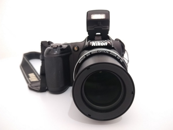 Nikon Coolpix L820 16mp Com Zoom Ótico 30x, Filma Em Full Hd
