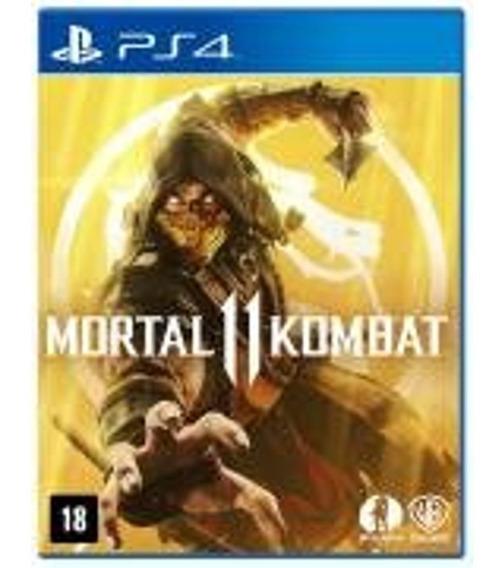 Game Mortal Kombat 11 Xl Ps4 Playstation 4 Midia Fisica Cd O