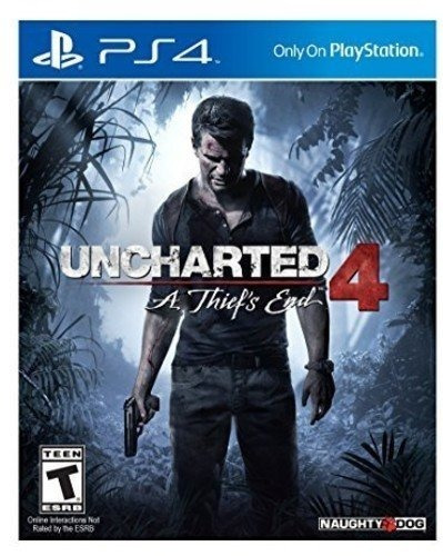 Ps4 Uncharted 4 A Thiefs End Midia Fisica Importado Eua