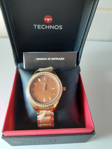 Relógio Technos Feminino Elegance Ladies 2115kqy/4m