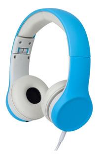 Puerto De Limitacion De Volumen Y Audio Compartido Para Auriculares Para Niños (azul)