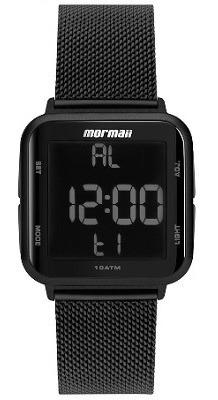 Relógio Mormaii Unissex Preto Digital Mo6600ag/8p