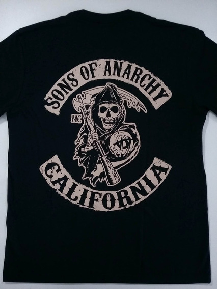 Camiseta Sons Of Anarchy - Filhos Da Anarquia - Samcro - Hcd