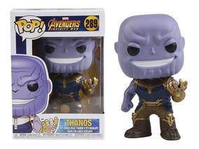 Thanos Funko Pop Avengers Infinity Wars Marvel 289 Barato