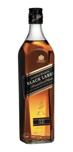 Whisky Johnnie Walker Black Label 200ml Petaca