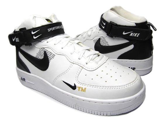 Tênis Bota Nike Air Force Tm Masc&fem Unissex Frete Grátis