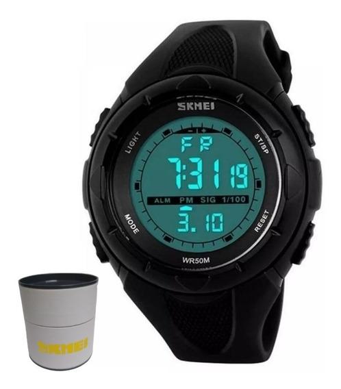 Relógio Masculino Digital Skmei 1074 - Nf Com Caixinha