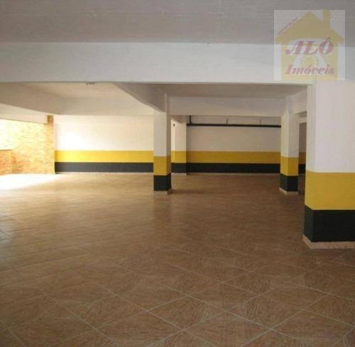 Apartamento Com 1 Dormitório À Venda, 62 M² Por R$ 374.500,00 - Canto Do Forte - Praia Grande/sp - Ap3539
