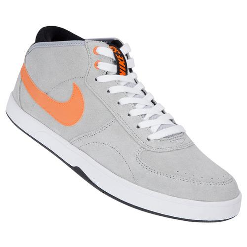 heno impactante cilindro  Zapatillas Nike Sb Mavrk Mid 3 (gris+naranja) Mpim H | Mercado Libre