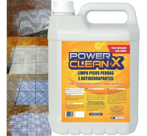 Imagem 1 de 6 de Detergente Alcalino Flúor H F Limpa Pisos Cerâmicas Antiderrapantes Chão Pedras  Desencarde E Renova