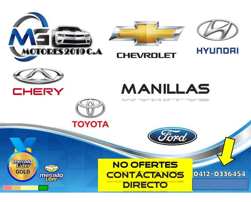 Manillas Interna Izq Chevrolet Aveo Gm
