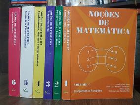 Ime Ita Noções De Matemática 6 Vols - Aref Antar