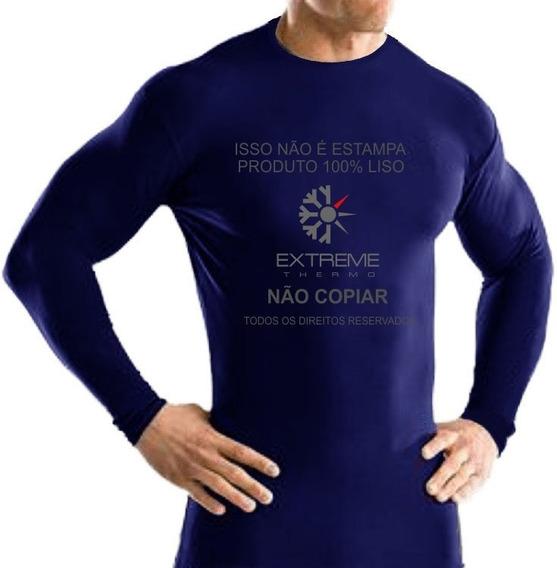 Camisa Térmica Segunda Pele Rash Guard Extreme Frio Calor