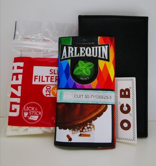 Tabaco De Menta Para Armar Cigarrillos Con Filtros Ocb Kit