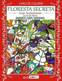 Livro De Colorir - Floresta Secreta