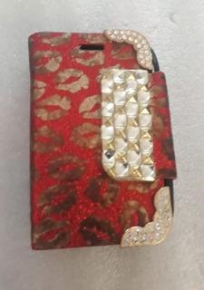 Capa Celular-flip Cover-pocket 5310-neoperene-decor. L.518