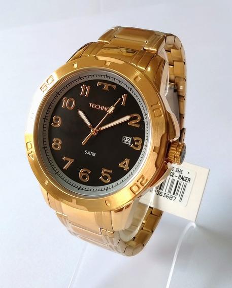 Relógio Masculino Dourado Technos Performance 2315ack/4p.