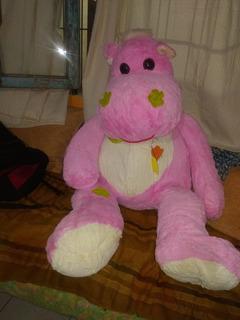 Peluche Gigante (hipopótamo) De 1 Metro!