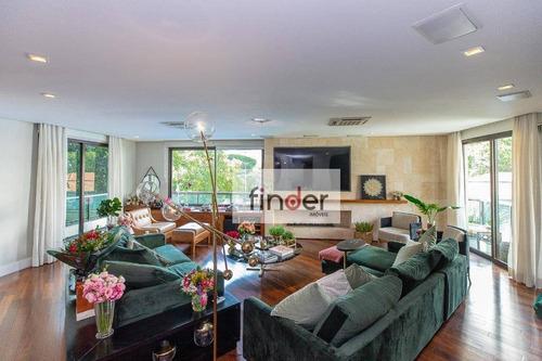 Green House - Av. Jandira, 891 - Moema. Apartamento Reformado, 257 M², Sacada, 2 Suítes, 4 Vagas E Lazer Completo. Próximo Shopping Ibirapuera - Ap13180