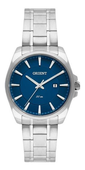 Relógio Orient Feminino Fbss1127 D1sx Prata Azul Analogico