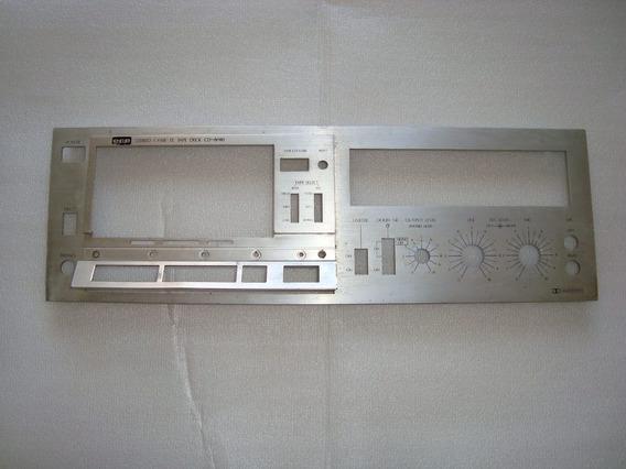 Frente Tape Deck Cd-8080 Cce - Usada P Restauro