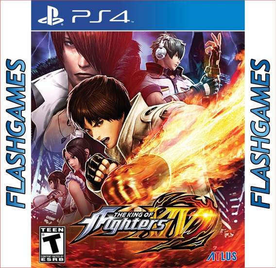 The King Of Fighters Xiv Ps4 - Mídia Física