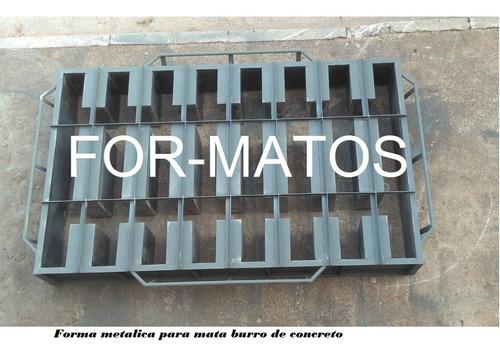 Imagem 1 de 2 de Forma Metalica Para Mata Burro
