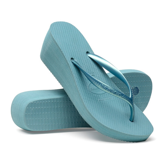 Kit 2 Chinelo Feminino Havaianas High Fashion C/2 Promocao