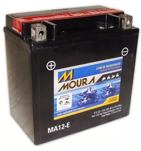 Bateria Moto Moura Ma12-e Bmw K1300 R K1300 S Ytx14-bs