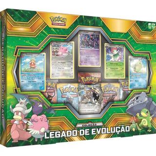 Box Cards Pokemon Legado De Evolução Copag