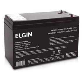 Bateria Selada Elgin Vrla 12v 7ah