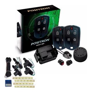 Alarme Carro Positron Cyber Ex330 Exact + Trava 4 Portas