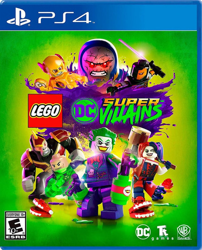 Imagen 1 de 8 de Lego Dc Super-villanos (ps4) Fisico/ Mipowerdestiny
