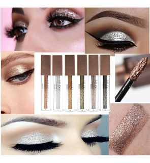 Set Huxia Sombras Liquidas 24 Sombras Shimmer & Glitter Eyes