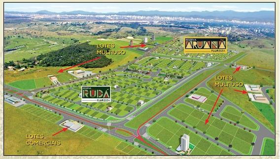 Terreno Em Condomínio Fechado, 250m² Por R$ 192.000 - Te0002