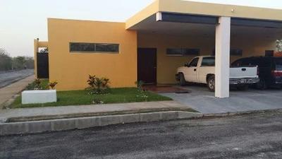 Privada Residencial Hacienda Cholul,1 Planta, En Esquina, 4 Hab + Depa