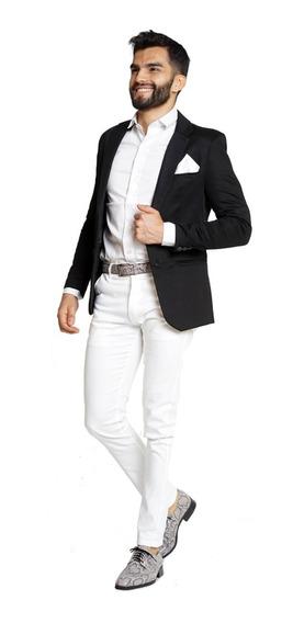 Chupines De Vestir Satinados Gabardina Hombre Import Usa