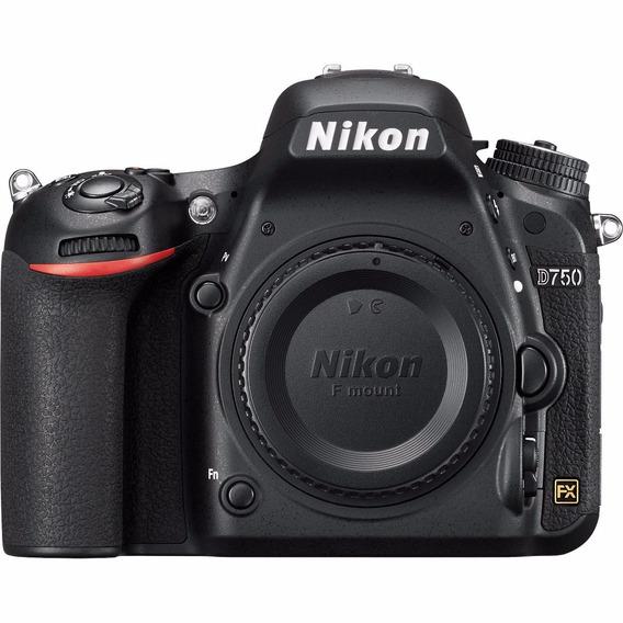 Câmera Profissional Nikon Dslr D750 Apenas O Corpo
