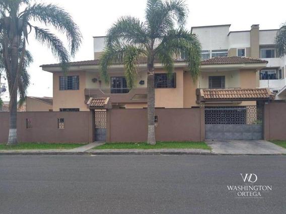 Sobrado Com 4 Dormitórios À Venda, 309 M² Por R$ 930.000 - Afonso Pena - São José Dos Pinhais/pr - So0139