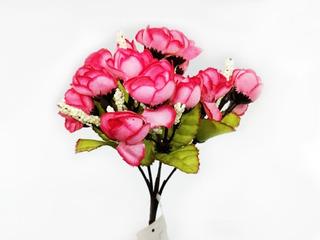 Rosa Matas Rosas Flores Artificiales Decoración 119-11