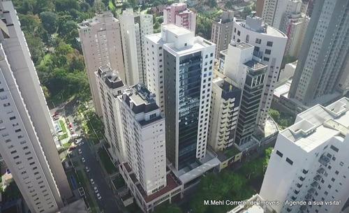 Sala Comercial À Venda Com 173.36m² Por R$ 1.398.000,00 No Bairro Champagnat - Curitiba / Pr - M2ch-abinv22